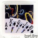 """Poker Prints 4"""" x 4"""""""