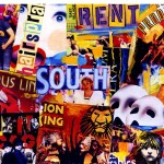 New York City Broadway Collage Postcard